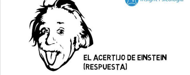 El acertijo de Einstein